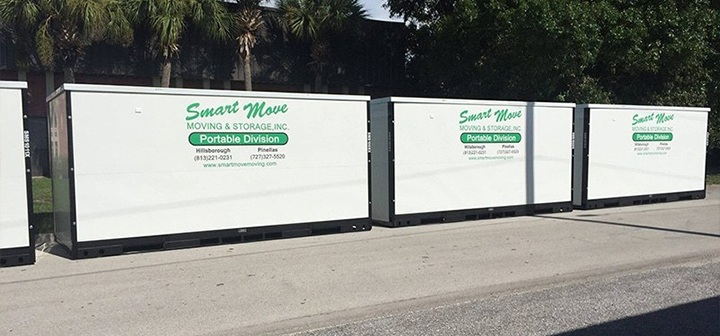Portable Storage Units & Movers St. Petersburg | Self Storage | Tampa Clearwater Largo Florida